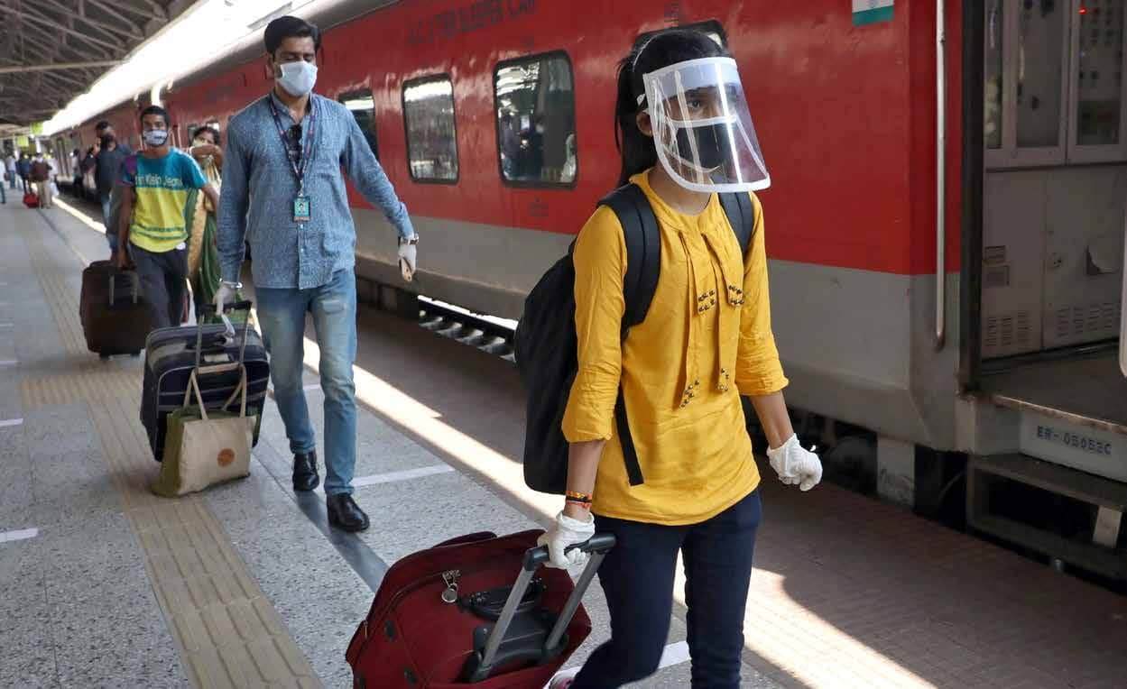 India's Packed Trains Ready To Roll Again Despite Rising Coronavirus Cases