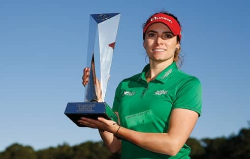 Gaby Lopez Wins in second-longest play-off battle in the history of LPGA
