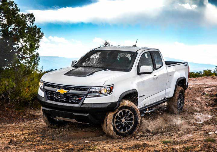 Chevy Colorado ZR2: High-performance Off-roader