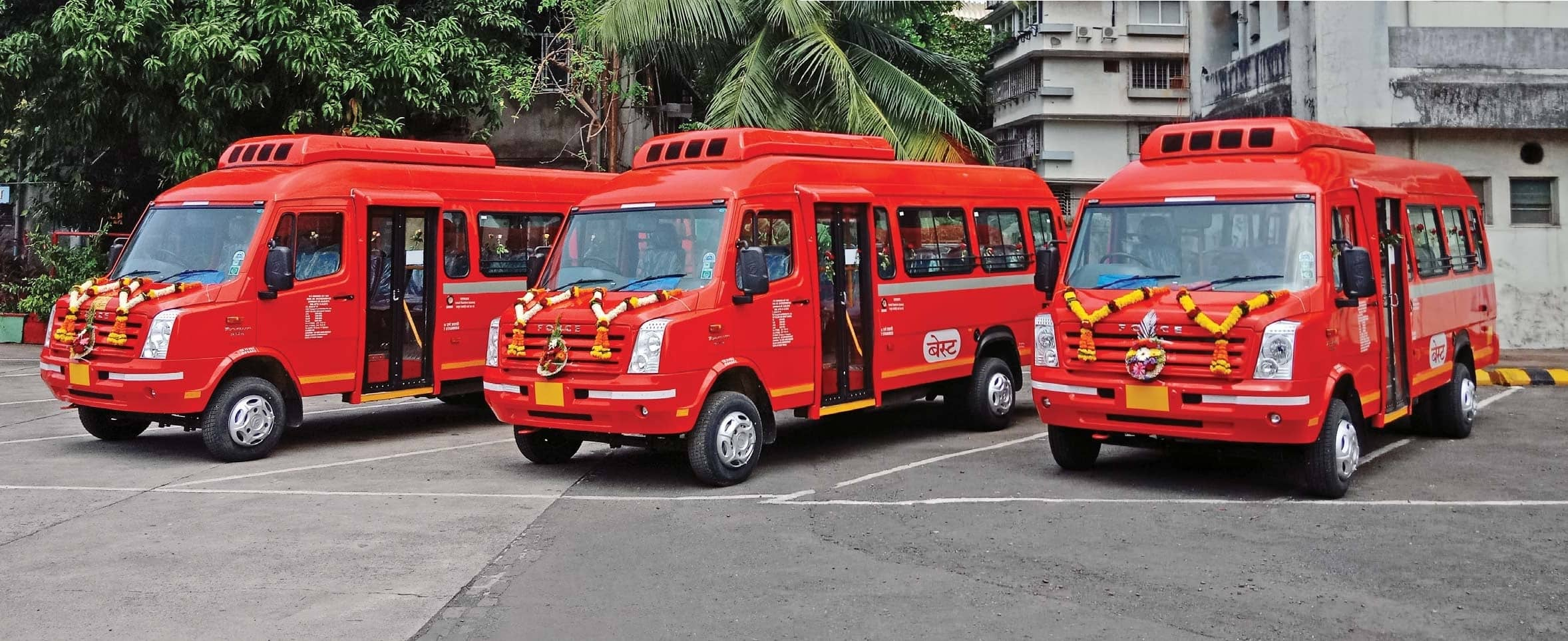 Best Inducts Force Traveller Mini-Buses