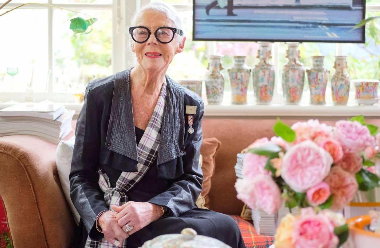 BARBARA'S WORLD - She's 82 & a style icon!