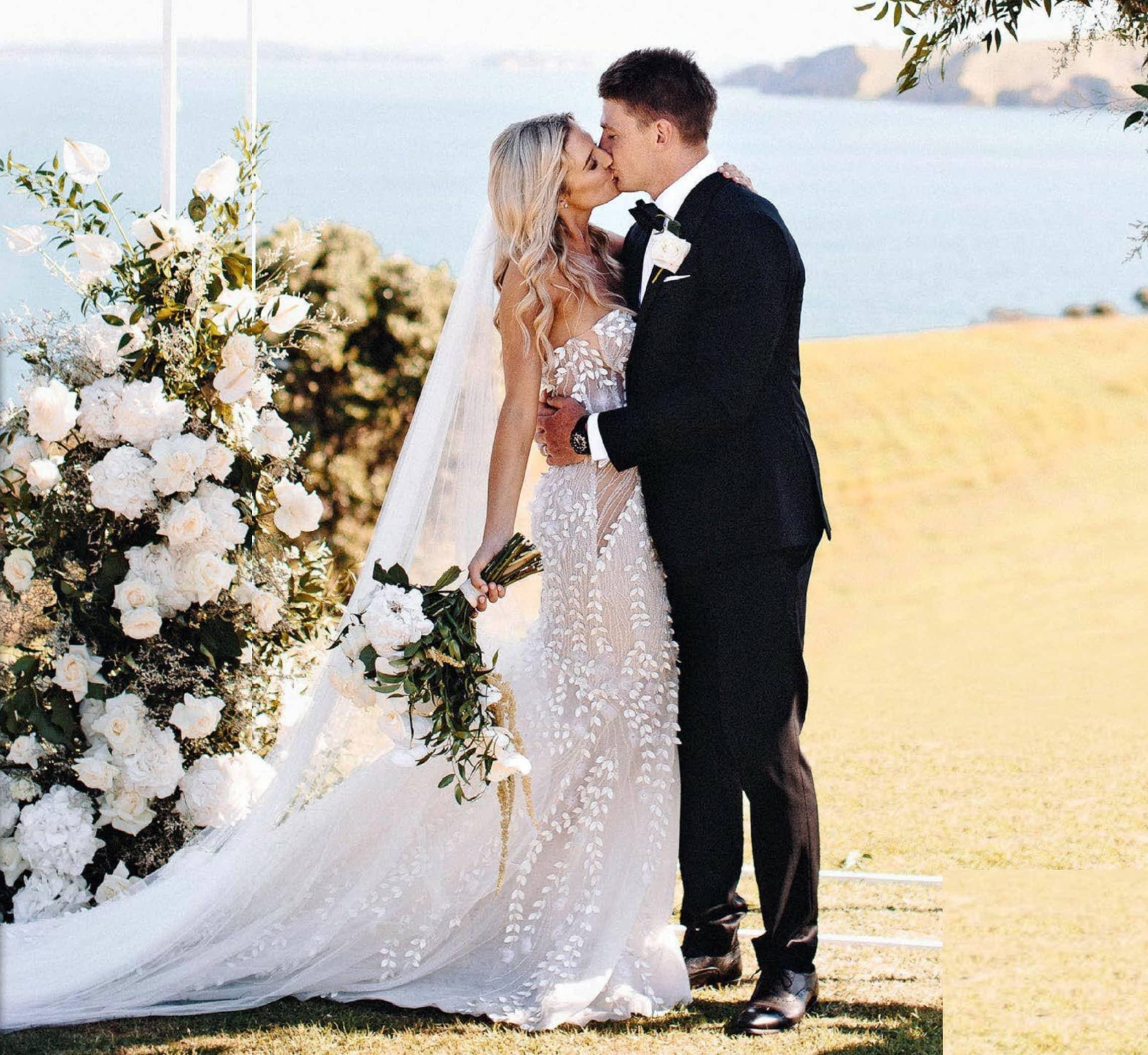 Romance & Roses On Rakino - Beauden & Hannah's Beautiful Big Day