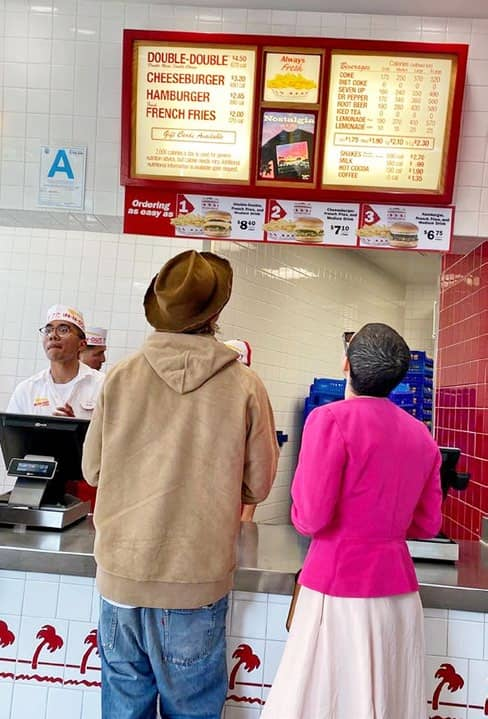 Burger Besties - Brad & Alia's In-N-Out Date
