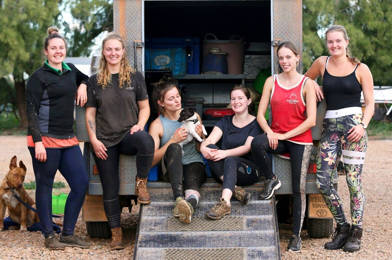 GIRL POWER FIGHTING FOR OUR SHEARING SHEDS!