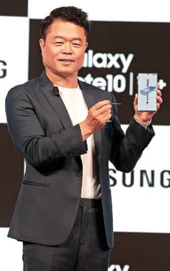 Samsung Launches Galaxy Note10
