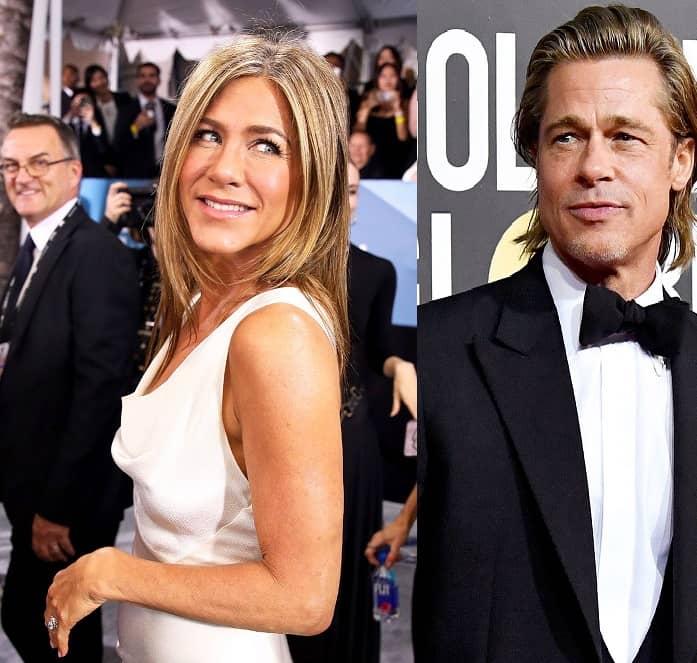 Jen & Brad's Emmys Reunion