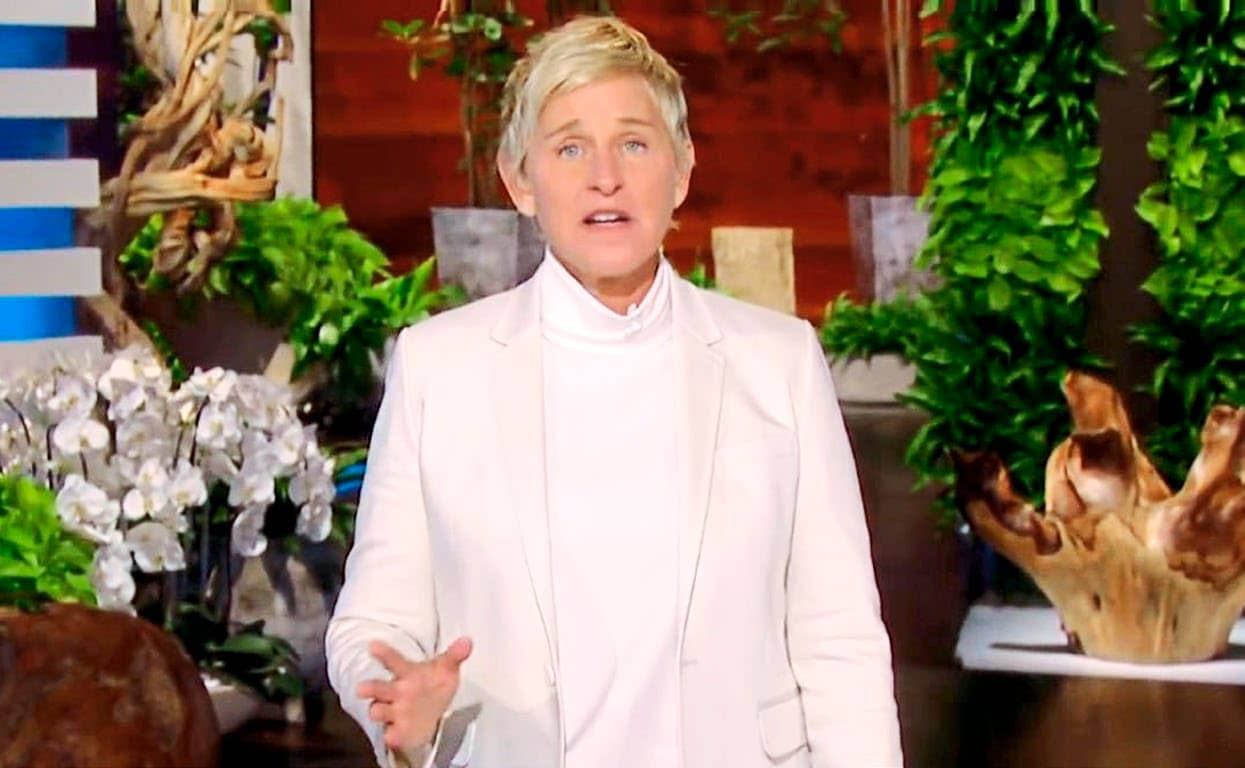 ELLEN'S APOLOGY 'I'M A WORK IN PROGRESS'