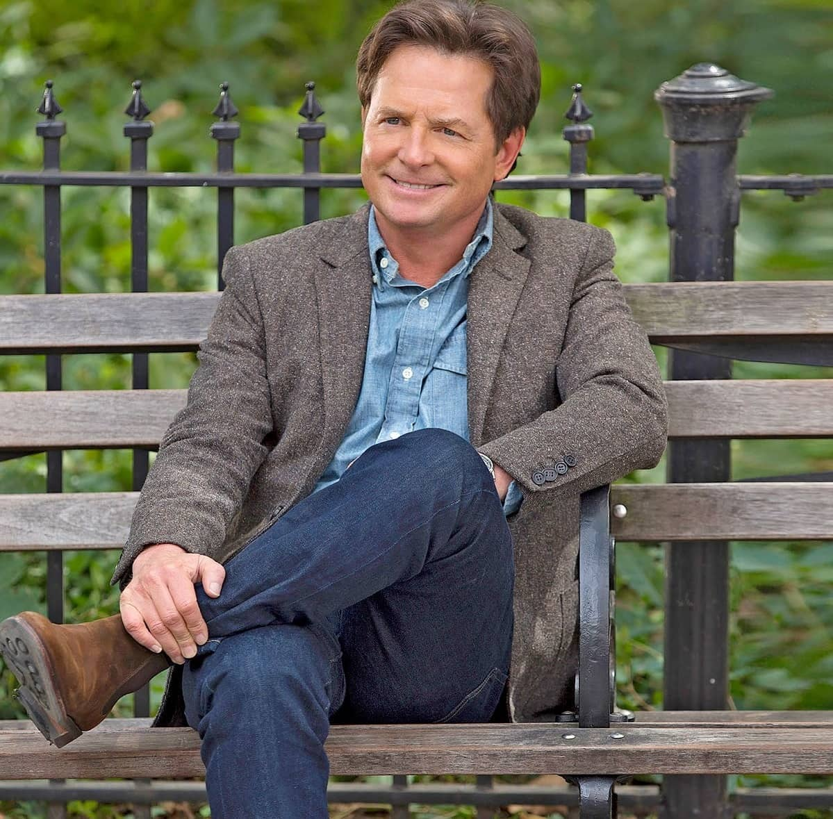MICHAEL J FOX ' People don't believe me but ... I LOVE LIFE'