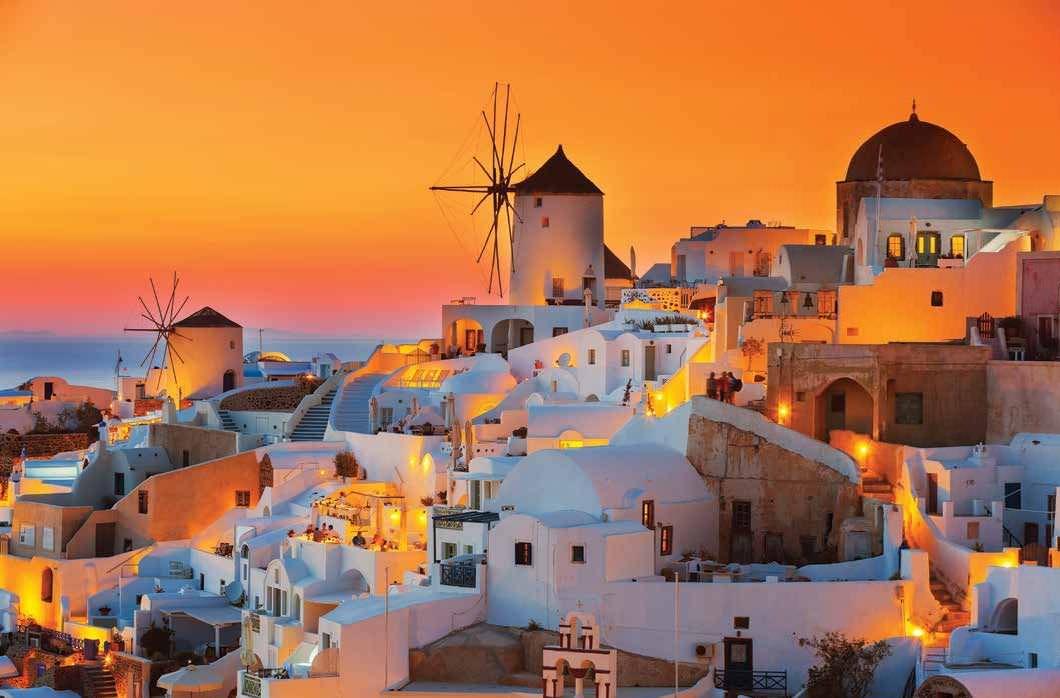 The Land Of Orange Sunsets
