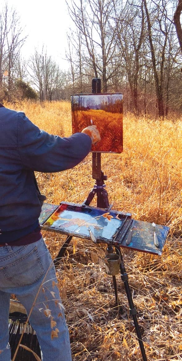 A Painter's Journey - Creating a Vision