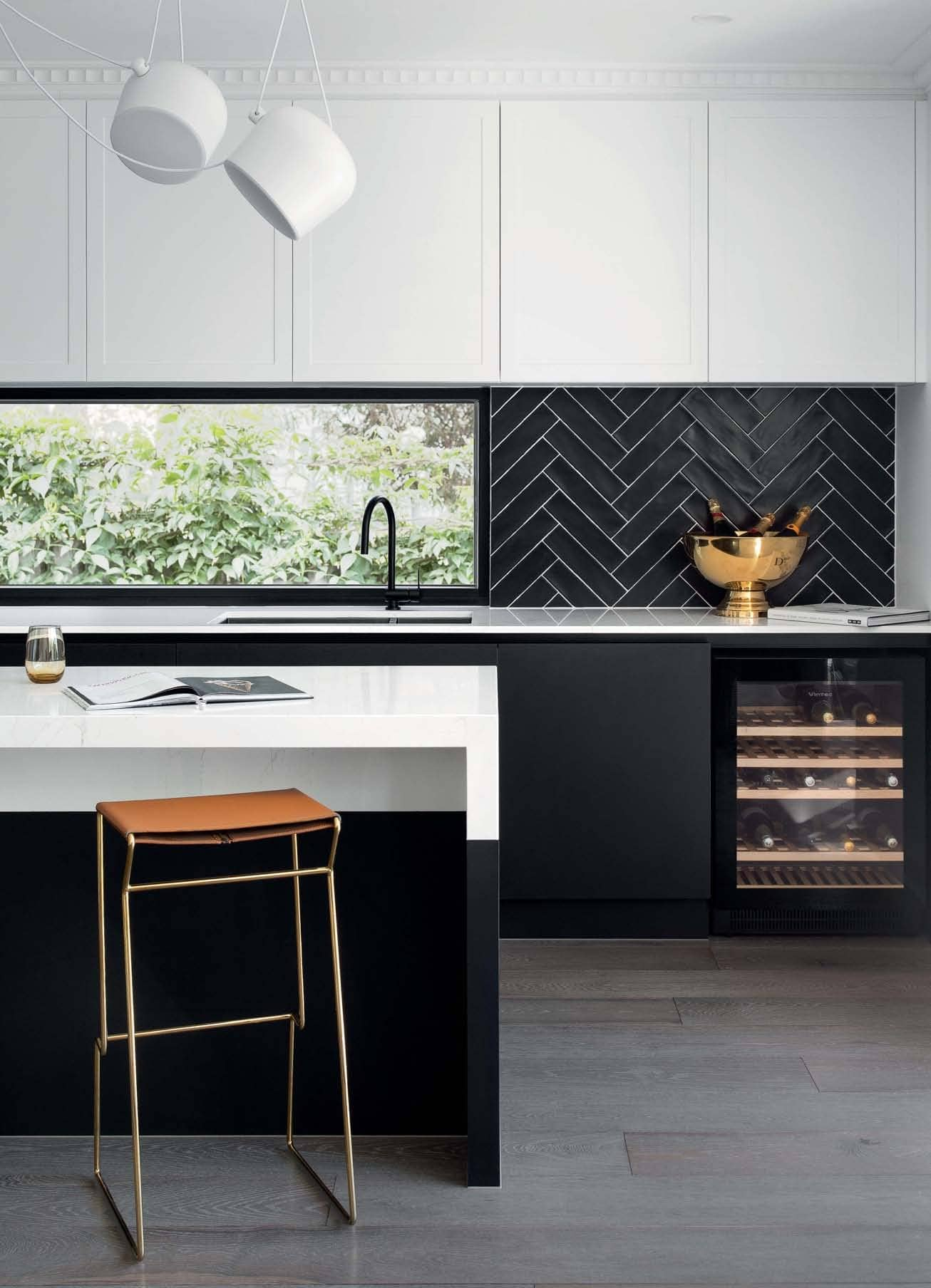 KITCHENS: LUXE FOR LESS