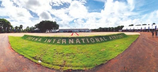 Jaffna airport becomes operational