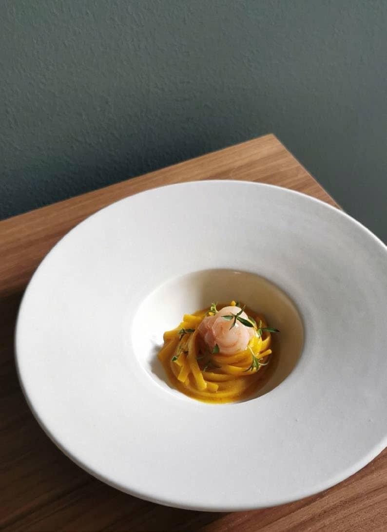 World Kitchen - Italy: Raw Shrimp Linguine