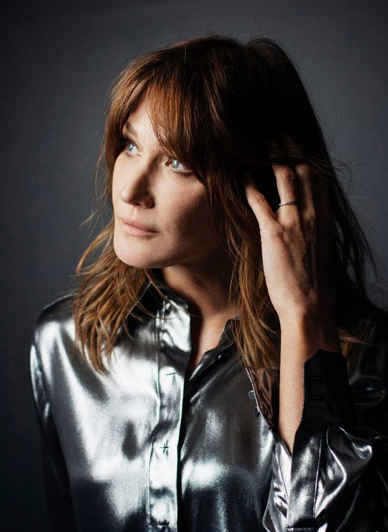 "Carla Bruni: ""It Took Me A While To Feel Legitimate"""