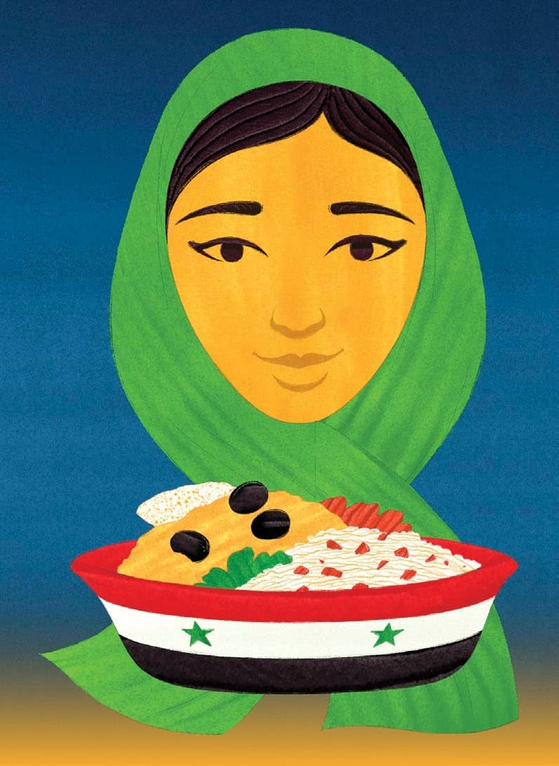 THE SYRIAN REFUGEES SHAPING BRITISH FOOD