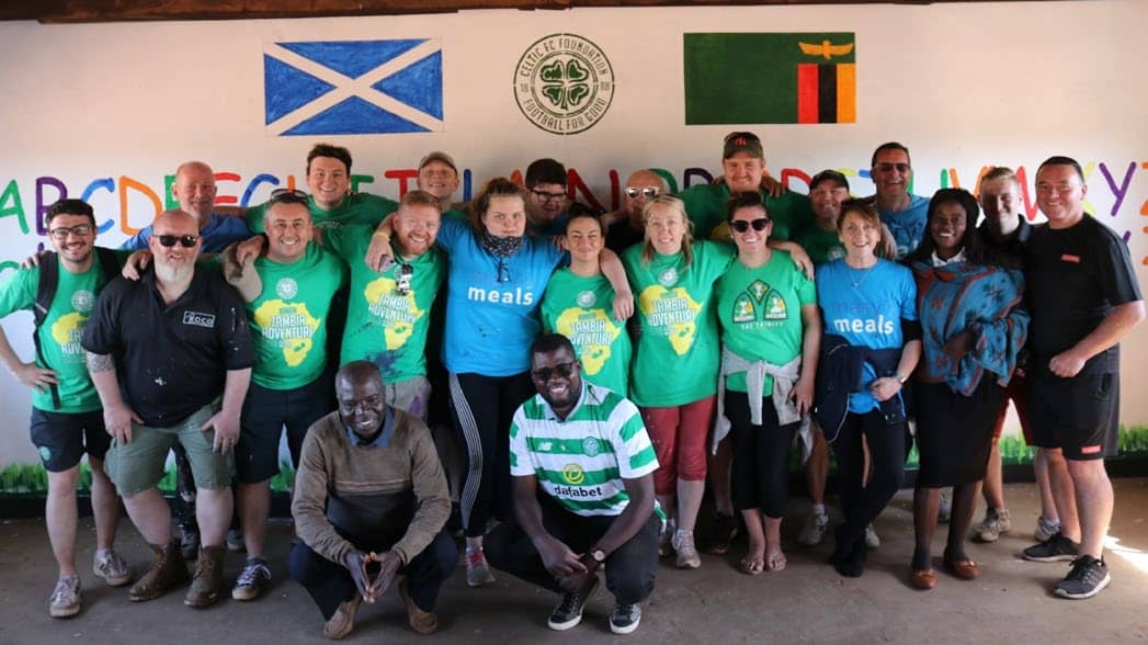 Celtic FC Foundation Set To Return To Zambia In 2020