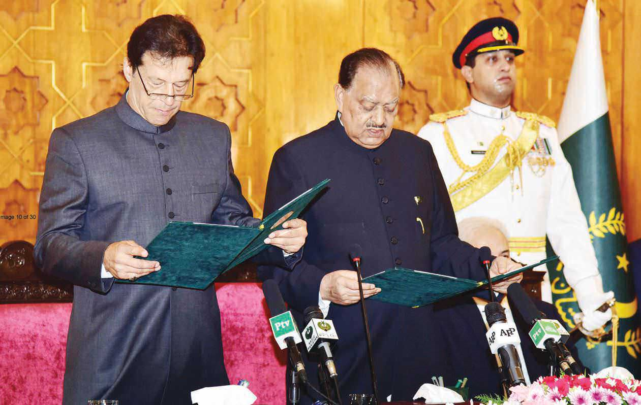 "Imran, ""Naya"" Pakistan And India"