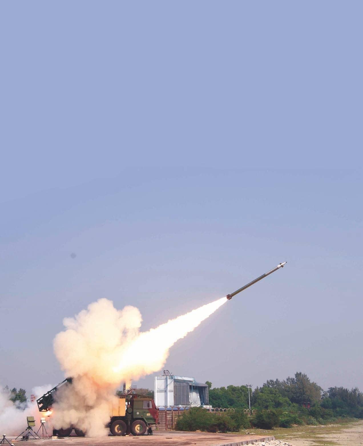 DRDO SUCCESSFULLY TEST FIRES PINAKA MARK-2