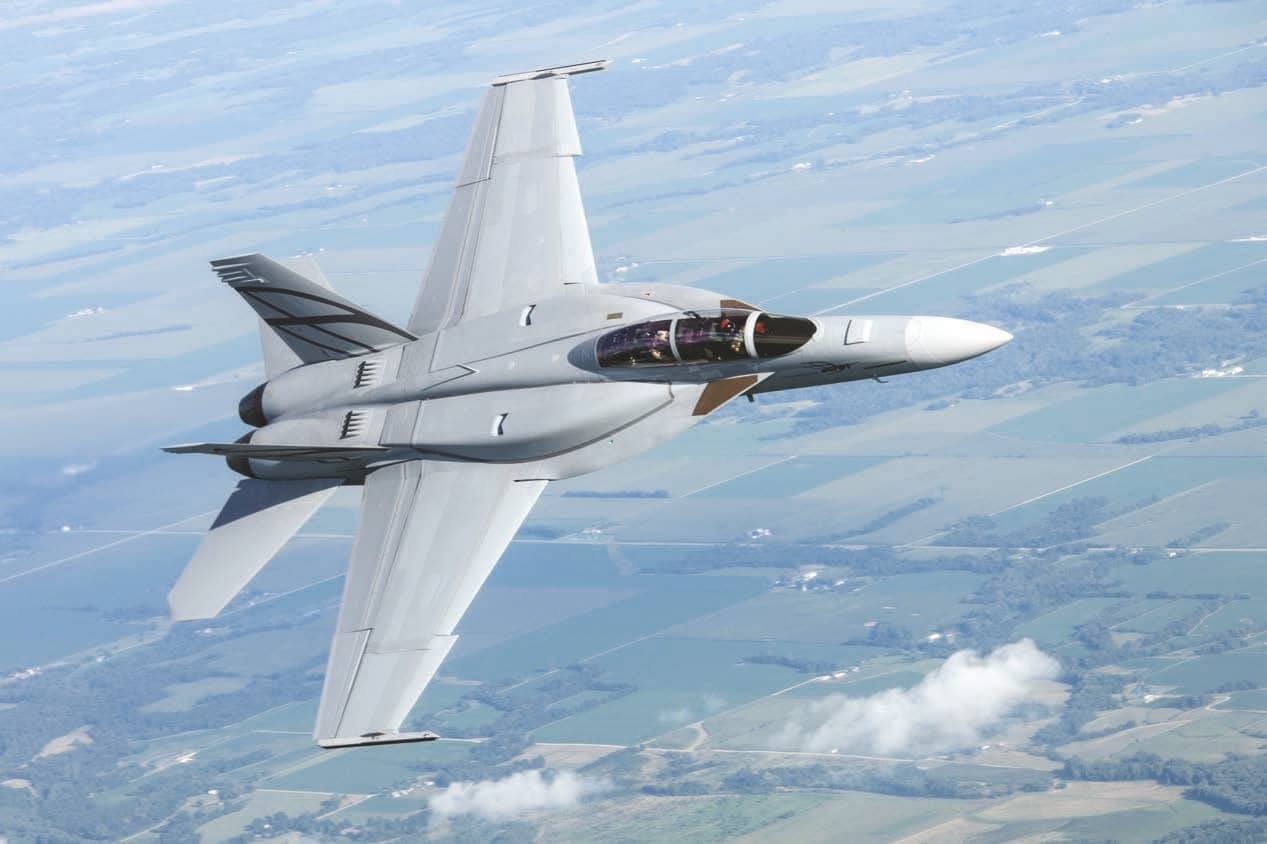 BOEING OFFERS F/A-18 BLOCK-III SUPER HORNETS TO INDIAN NAVY