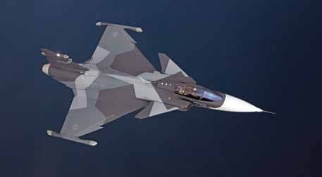 'GRIPEN-E DESIGN ENABLES IAF TO MAKE CHANGES IN TACTICAL FUNCTIONS IN A VERY SHORT PERIOD OF TIME'