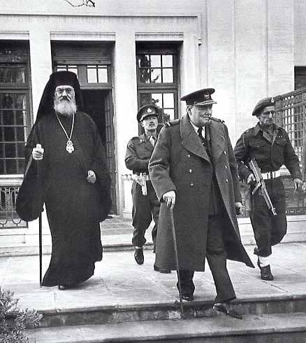 A Regency Fit For A King: Churchill Visits Athens, December 1944