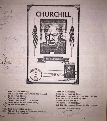 The International Churchill Society's First Fifty Years