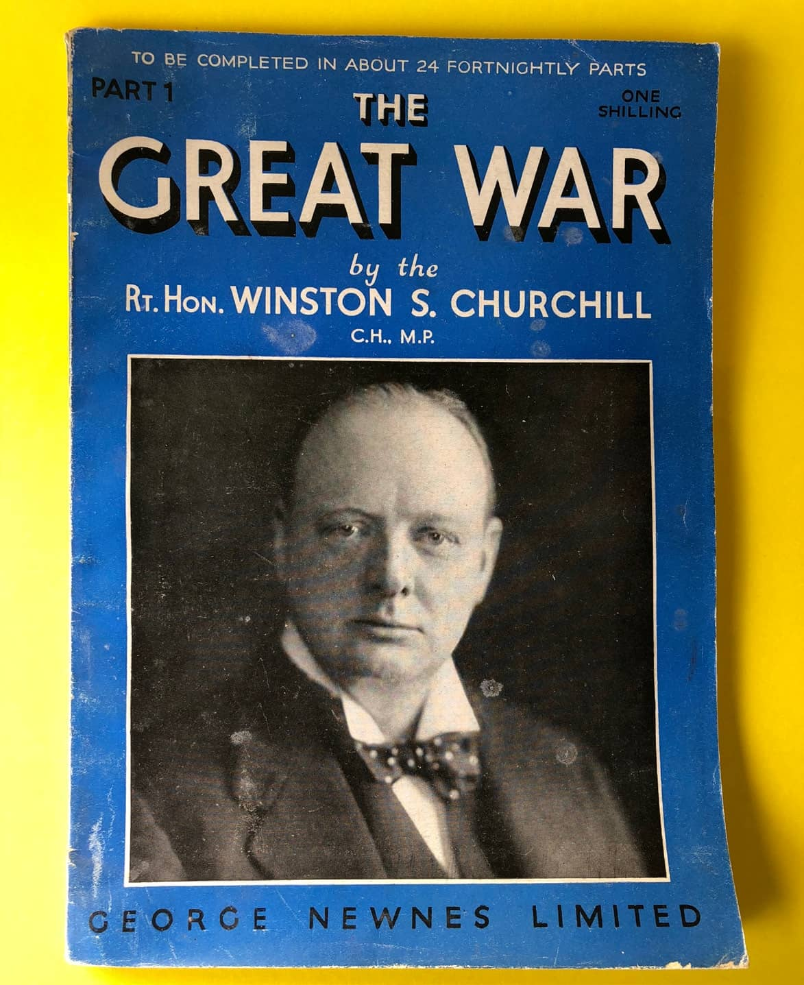 The World Crisis Breeds New Publishing Relationships For Churchill