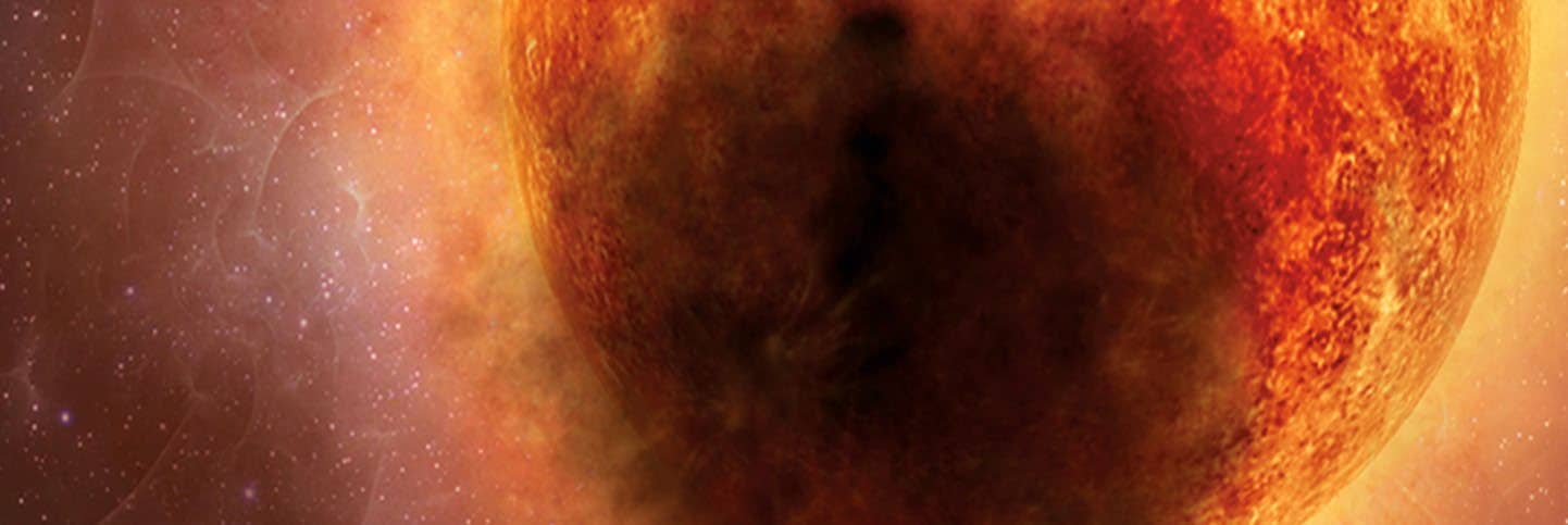Betelgeuse's bizarre dimming caused by eruption