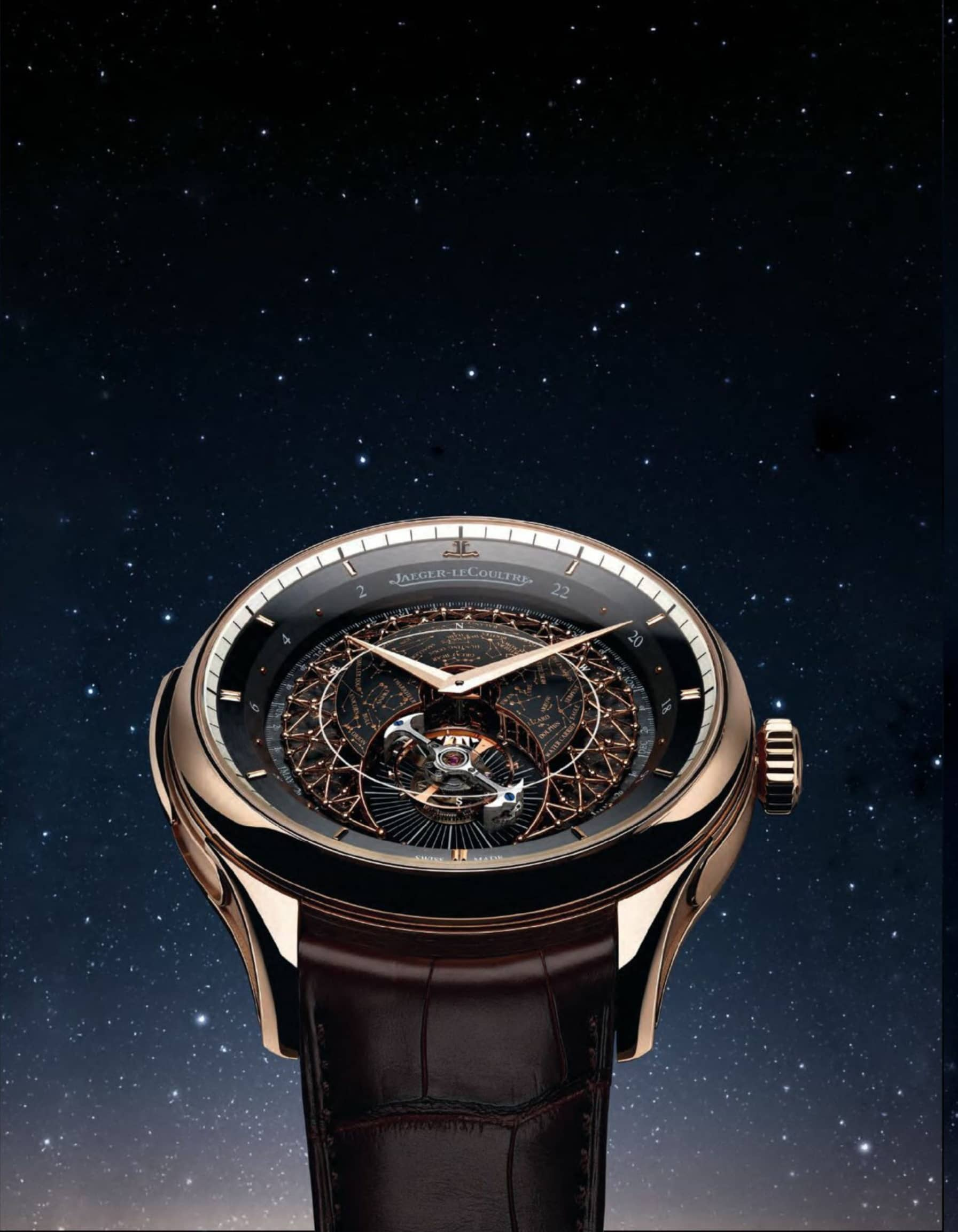 Jaeger-Lecoultre's New Luxury Timepiece Brings The Stars To You