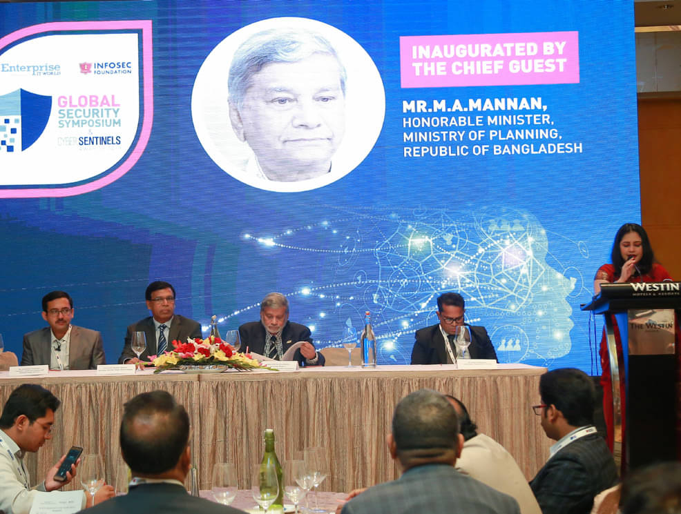 Infosec Foundation And Enterprise It World Successfully Conclude Security Symposium & Cyber Sentinel Award In Bangladesh