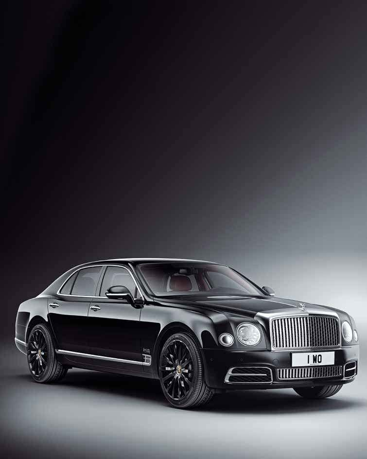 Bentley To Make 100 Limited Edition Mulsanne W.O Edition By Mulliner