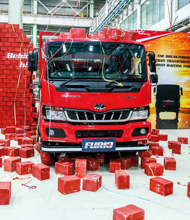 Mahindra Furio Line Of Trucks Launched In ICV Segment