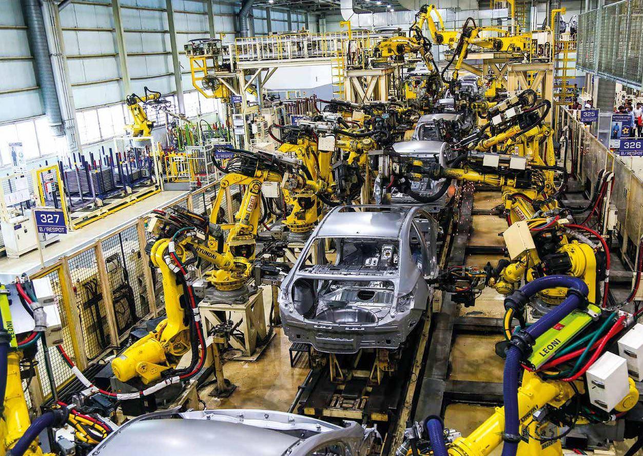Hyundai Motor India Plant Is Ready For New Santro, EV Vehicles