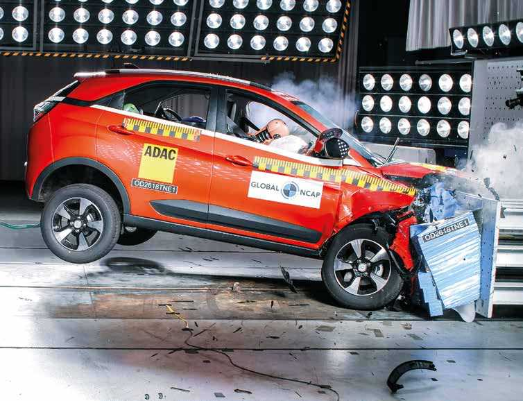Tata Nexon Achieves Highest Global NCAP Adult Safety Score Amongst Cars In India