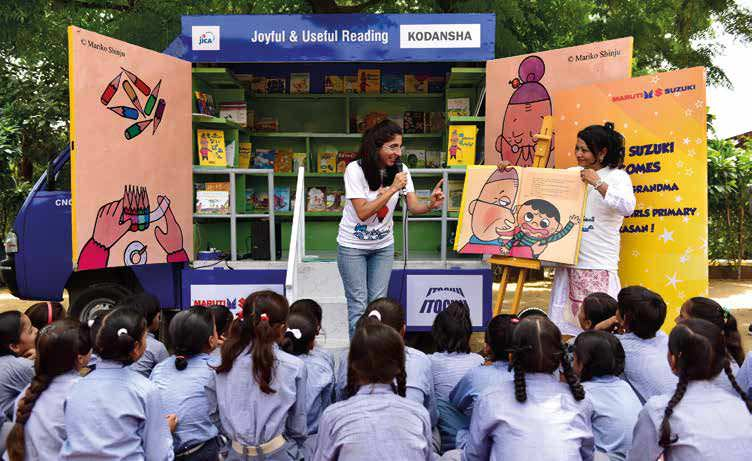 Maruti's Storytelling Caravan To Promote A Clean India Using A Japanese Concept