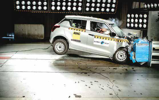 Maruti Suzuki Swift Gets 2 Stars In Global NCAP Crash Test