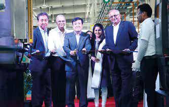 Sundaram-clayton Inaugurates New Foundry In Chennai