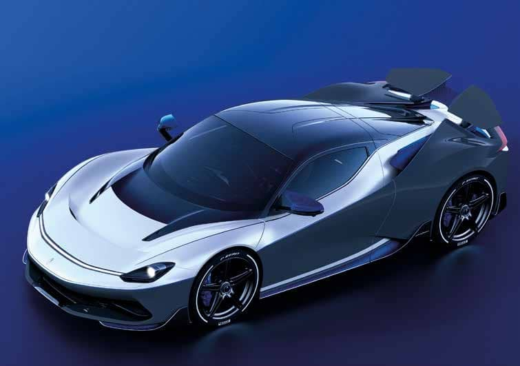 PININFARINA PURE-ELECTRIC HYPER GT BATTISTA ANNIVERSARIO LAUNCHED AT ₹21.23 CRORE