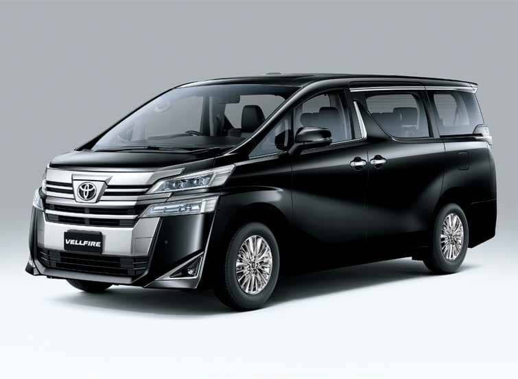 NEW TOYOTA LUXURIOUS SELF-CHARGING HYBRID ELECTRIC VEHICLE VELLFIRE LAUNCHED