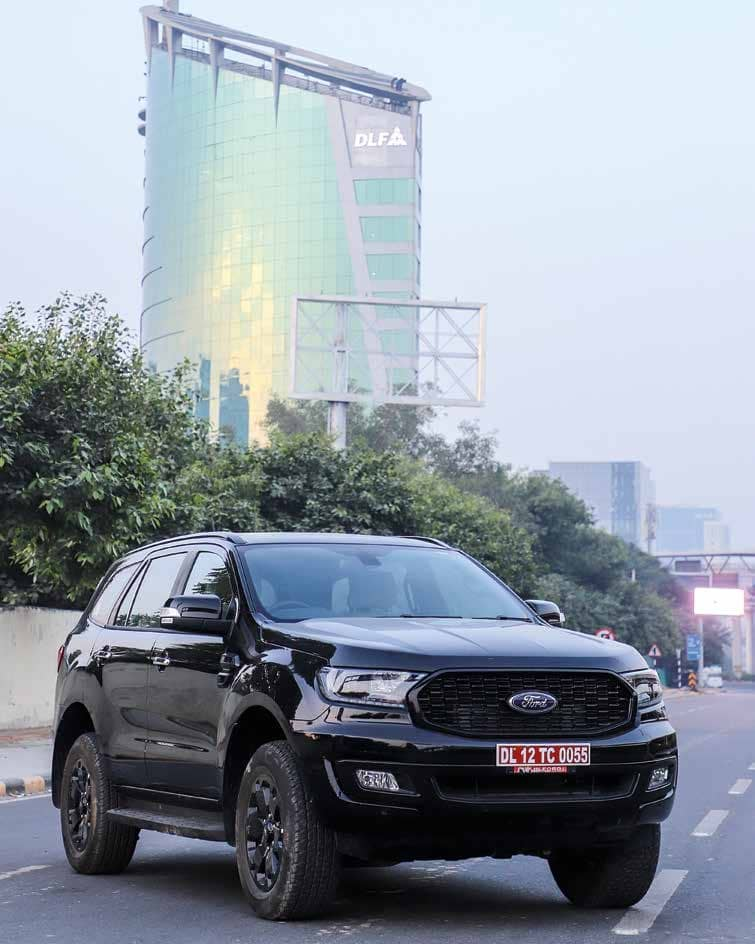 FORD ENDEAVOUR SPORT Special Edition launched at ₹ 35.10 Lakh