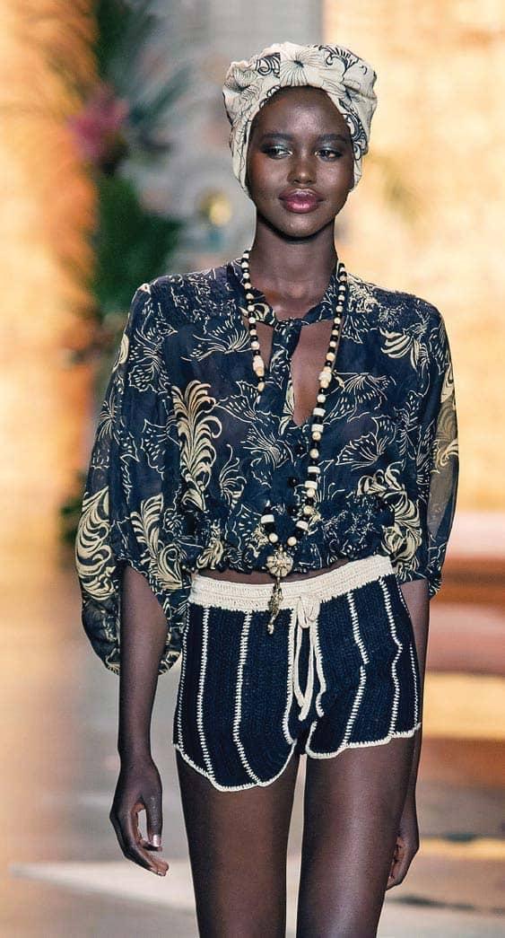 Pan-African Fashion Featuring Adut Akech