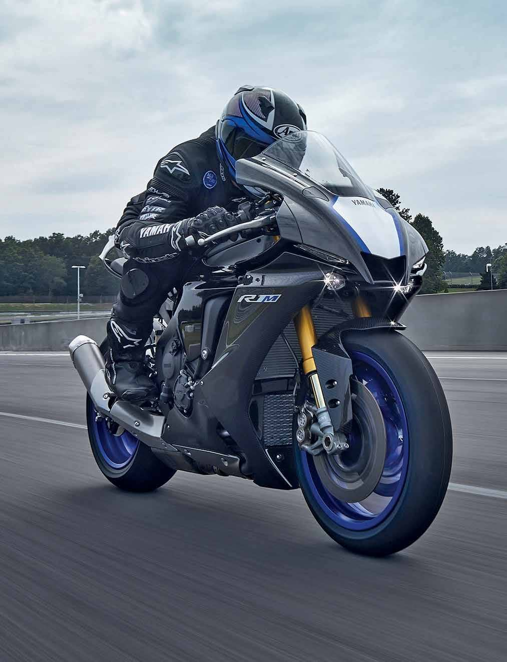 2020 Yamaha YZF-R1 & R1M