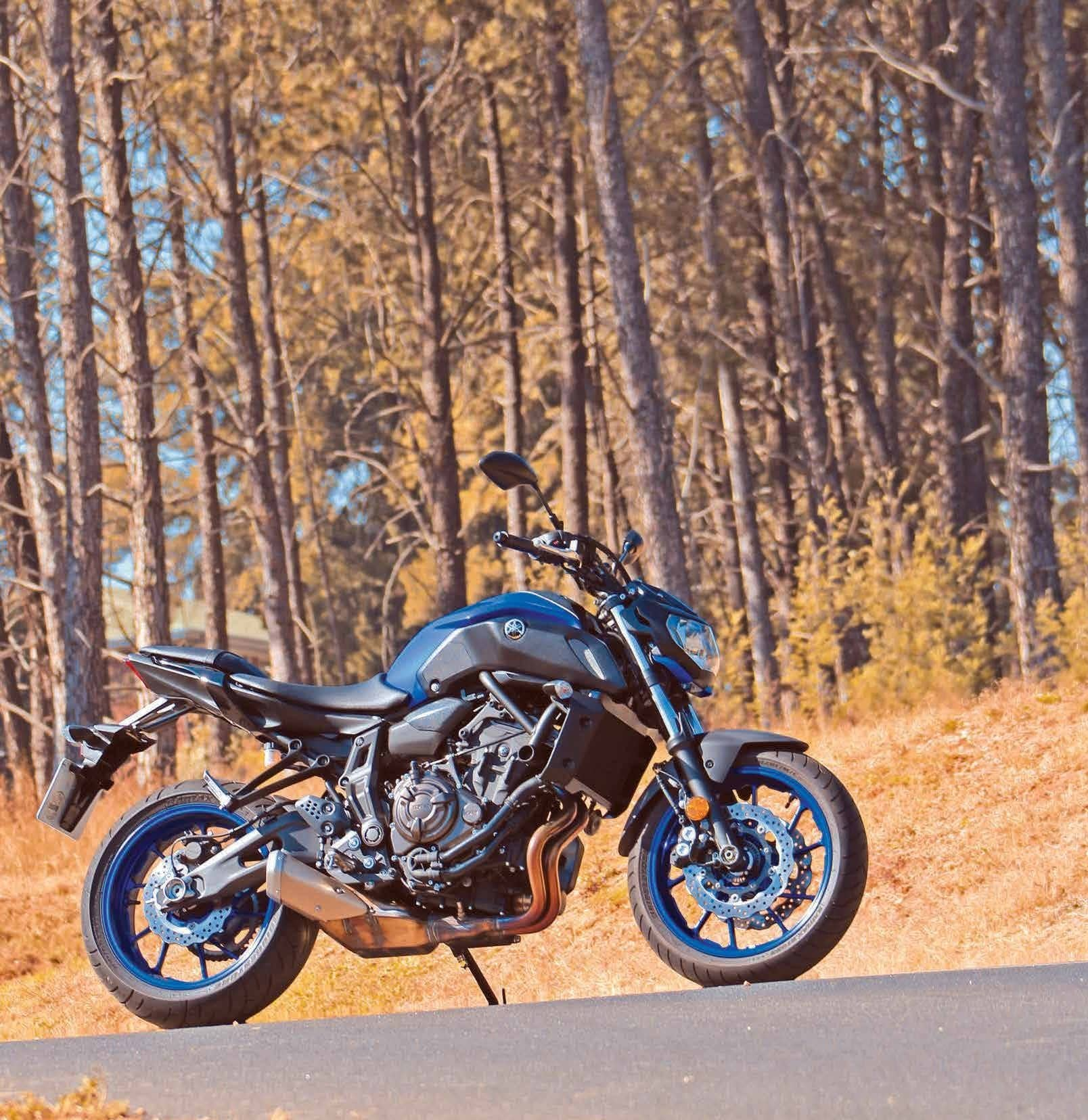 Yamaha MT07 Less Is More!