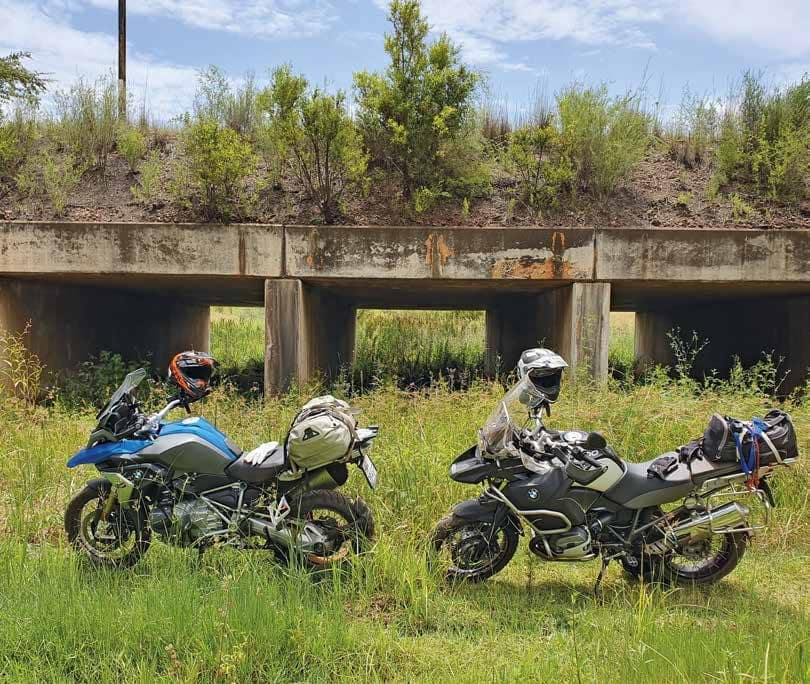 BMW R1250GS On The Aspoestertjie Rally 2020