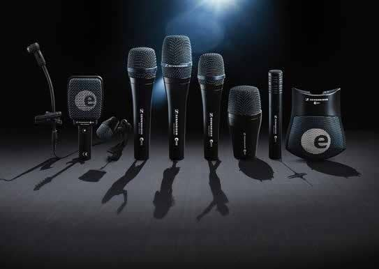 Sennheiser Evolution 900 Series Microphone: Designed for Musicians with best set of microphones Drummer can imagine