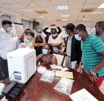 Tech Firms Tackle Pandemic