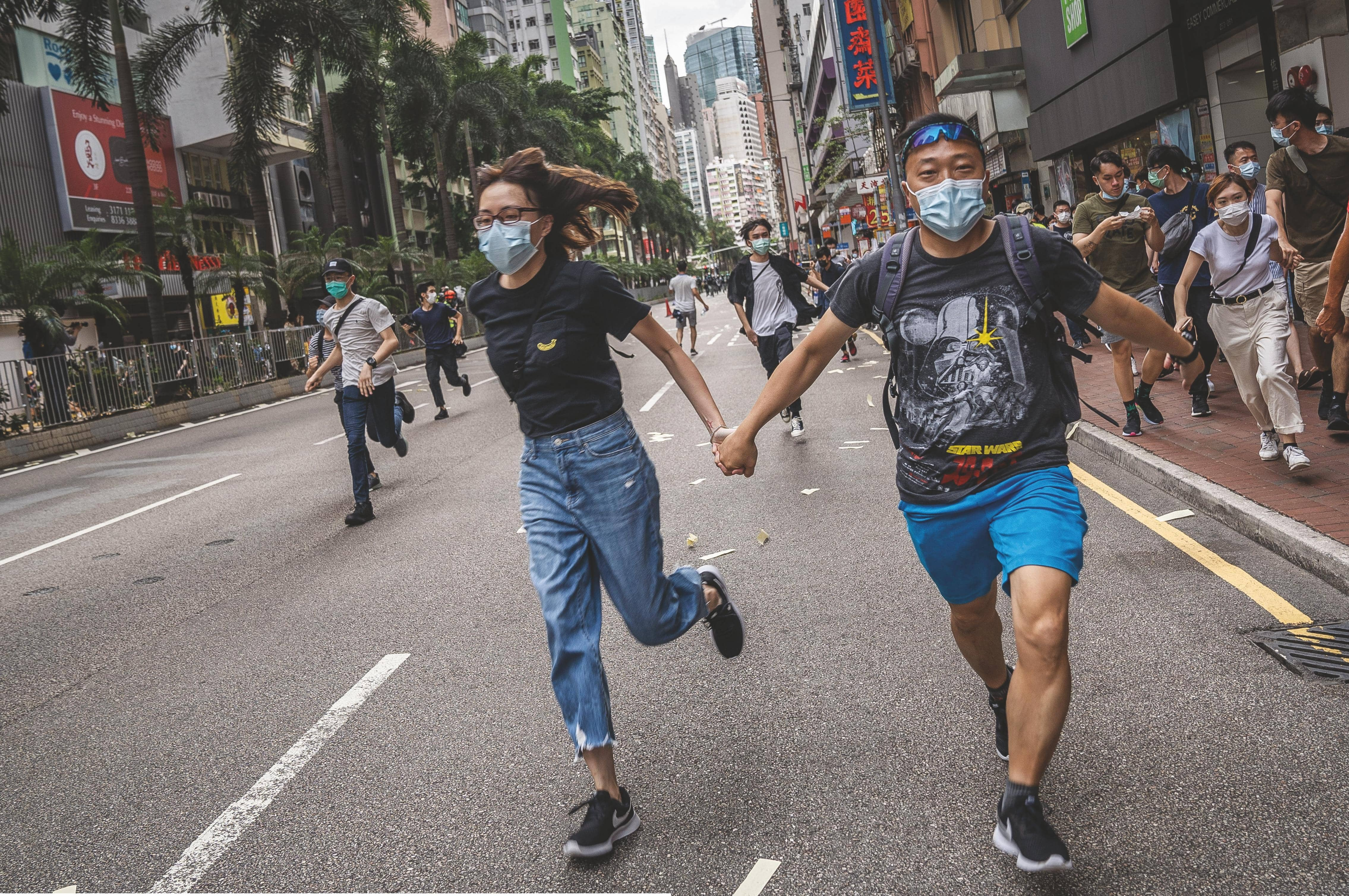 WHY HONG KONG'S PROTESTS TURNED VIOLENT