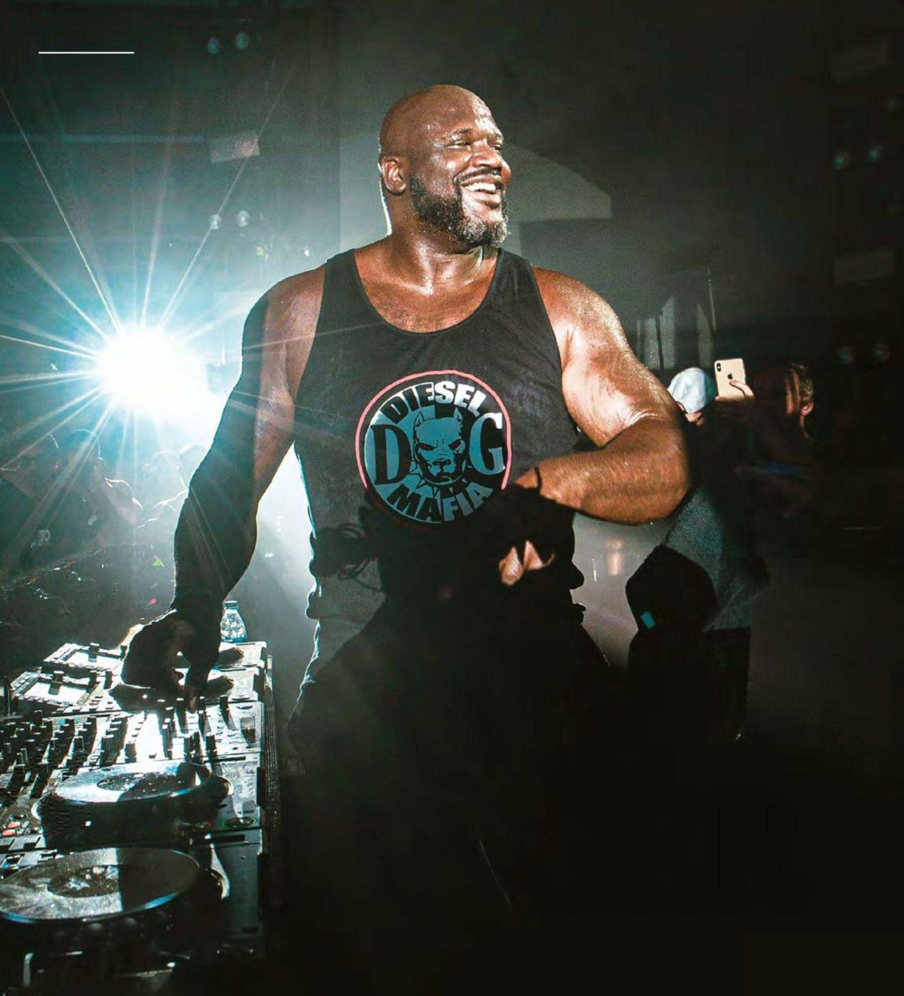 Shaquille O'neal's Second Act As DJ Diesel