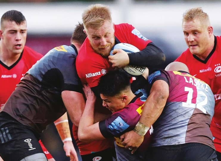 Wray stays at Sarries to build for the future