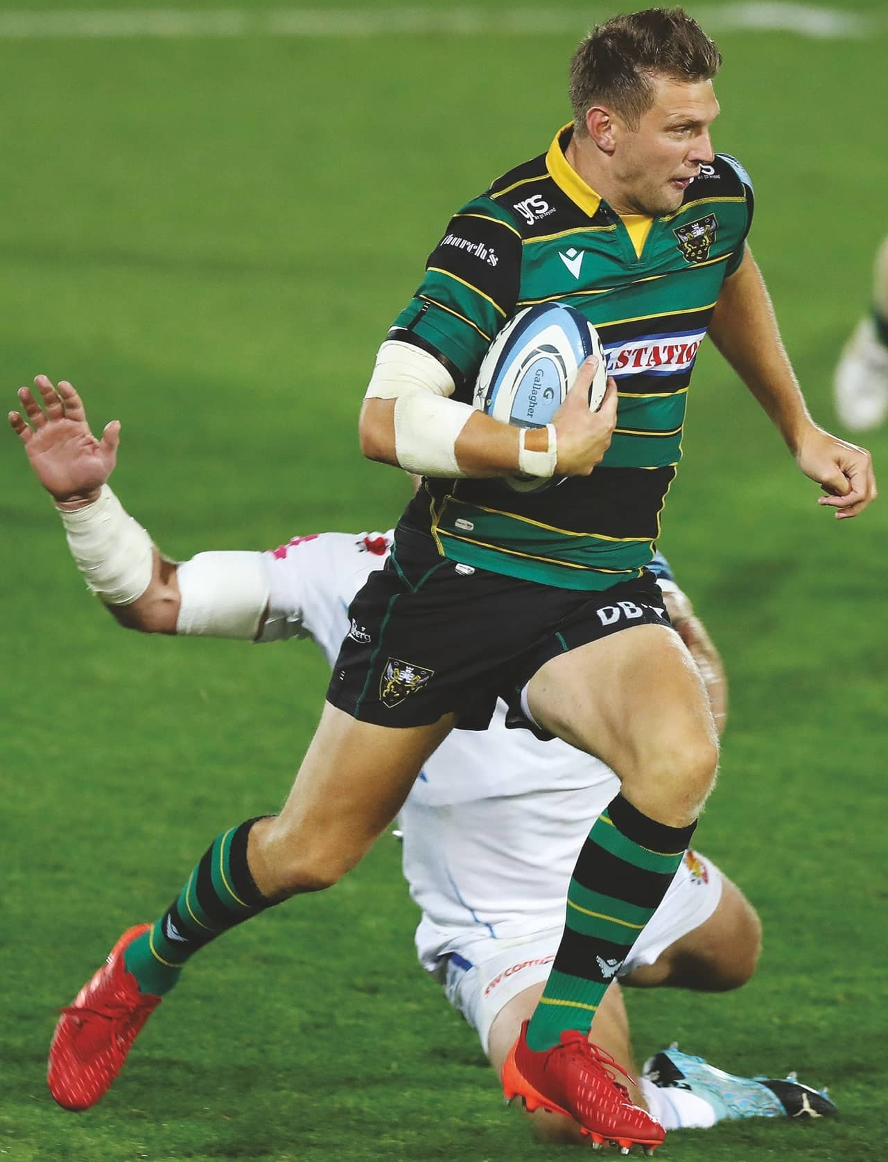 We'll try to test Exeter out wide says Biggar
